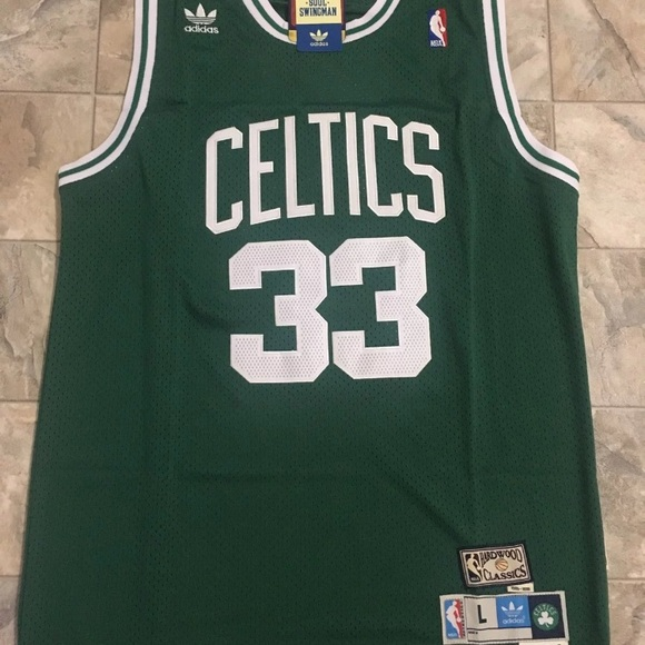 4df021ba778 Larry Bird throwback NBA Boston Celtics jersey